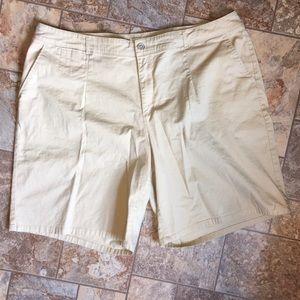 Cato Khaki Shorts